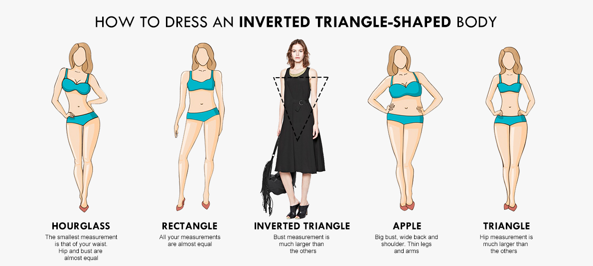 403a0baccbe3b How to dress an inverted triangle-shaped body